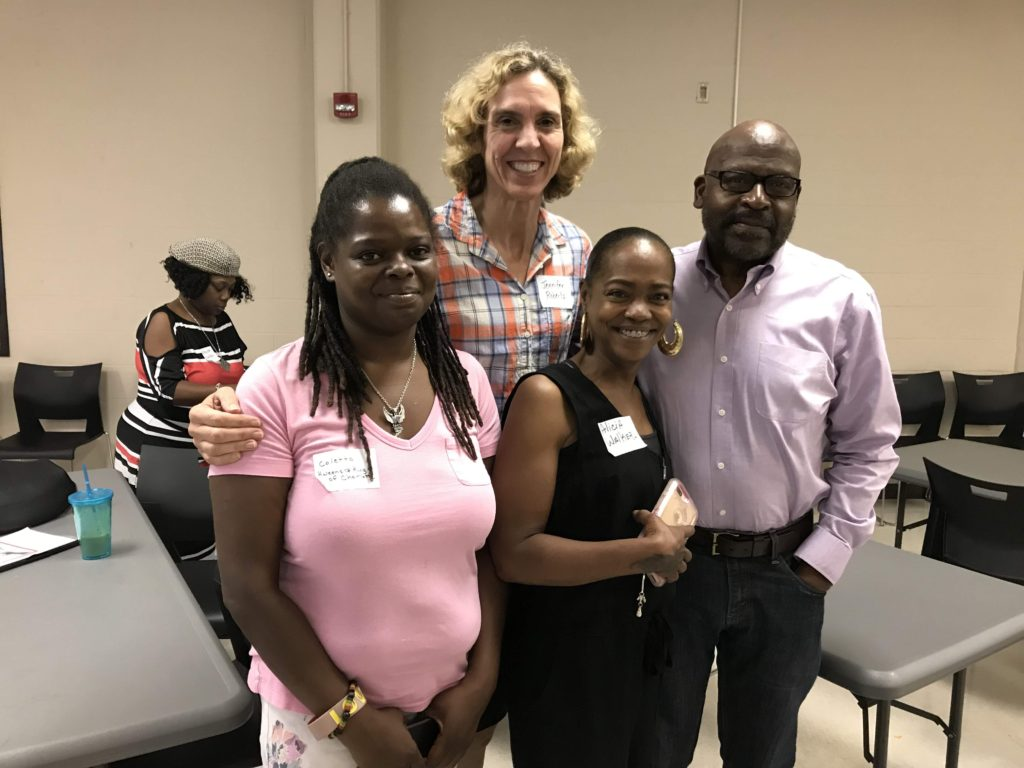 Coletta Sharpe, Mayor Jennifer Roberts, Alicia Walker, Gordon B. Daniels